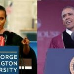 The President and Olivia Pope Give Commencement Speeches
