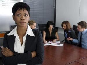 Black-woman-working-water-cooler-convos
