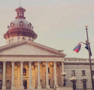 Bree-Newsome-flagpole-South-Carolina