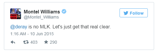 Montel Williams Tweet