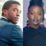 Michael B. Jordan and Lupita Nyong'o Cap Off Max Blackness In 'Black Panther'