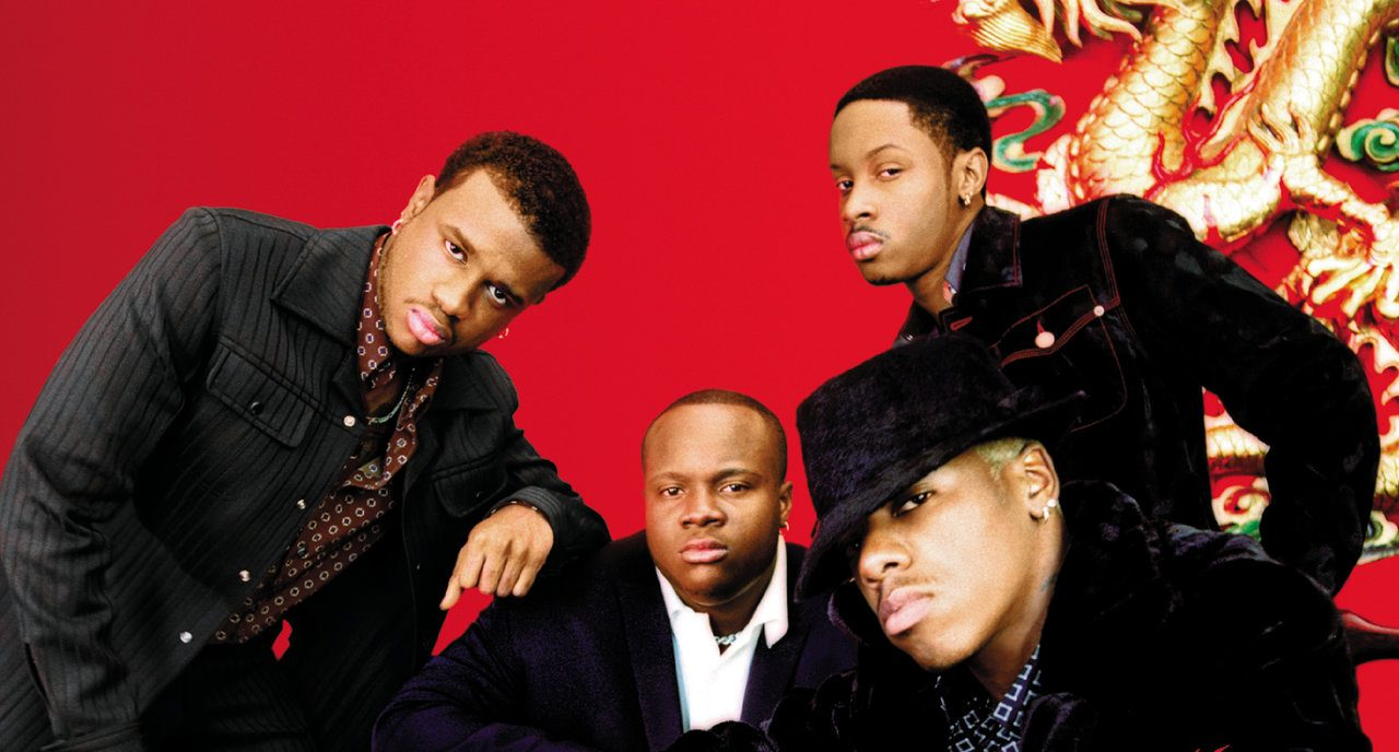 Dru Hill, one of the best R&B groups from the 80's-90's